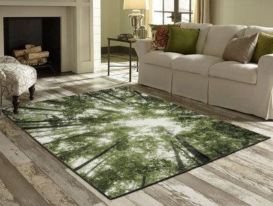 Modern vloerkleed Barney 22103 kleur Groen 40