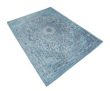 Tabriz vloerkleed  L. Blauw