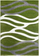Groen-vloerkleed-met-strepen-Fleur-8002