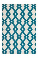 Designer-vloerkleed-Stellos-Ecru-Turquoise