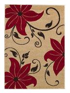 Aanbieding-vloerkleed-Victoria-kleur-beige-rood-OC15