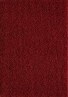 Rood hoogpolig vloerkleed of karpet